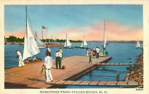 Postcard-Greetings-Fron-Sylvan-Beach-NY
