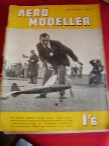 AEROMODELLER-AUGUST-1951-HELL-039-S-BELLE-WINDRUSH-II-SOPWITH-CAMEL-WELSHMAN-WAKEMAN