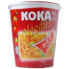 Koka Oriental Estilo fideos instantáneos Olla Curry Sabor - 12 Tazas