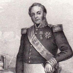 Distingué Gravure Xixe Maréchal Clauzel Révolution Monarchie Juillet Algérie 1846