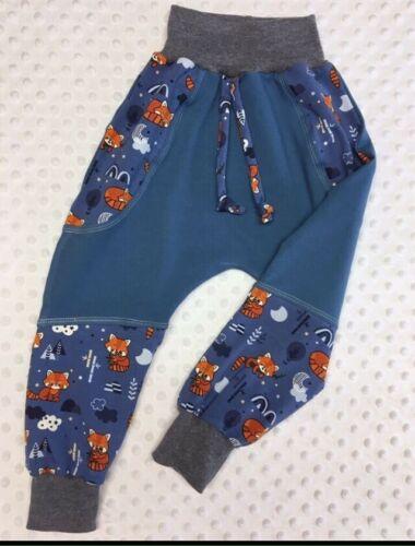 Gr.86//92 oder Gr.92//98 Pumphose Baby Kinder Hose Handarbeit NEU Jersey
