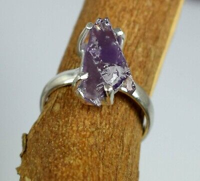 Russian Alexandrite 13.15 Ct 925 Sterling Silver Rough Ring Certified Natural     eBay