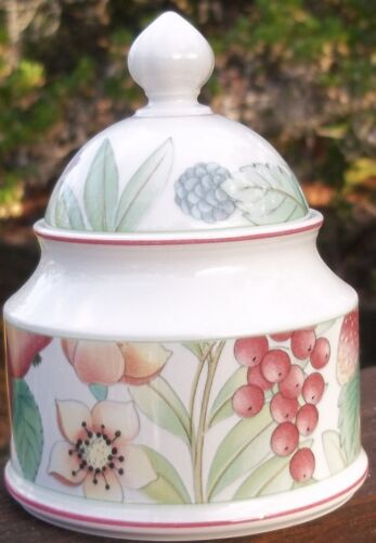 Villeroy & Boch Catalina SUGAR BOWL WITH LID