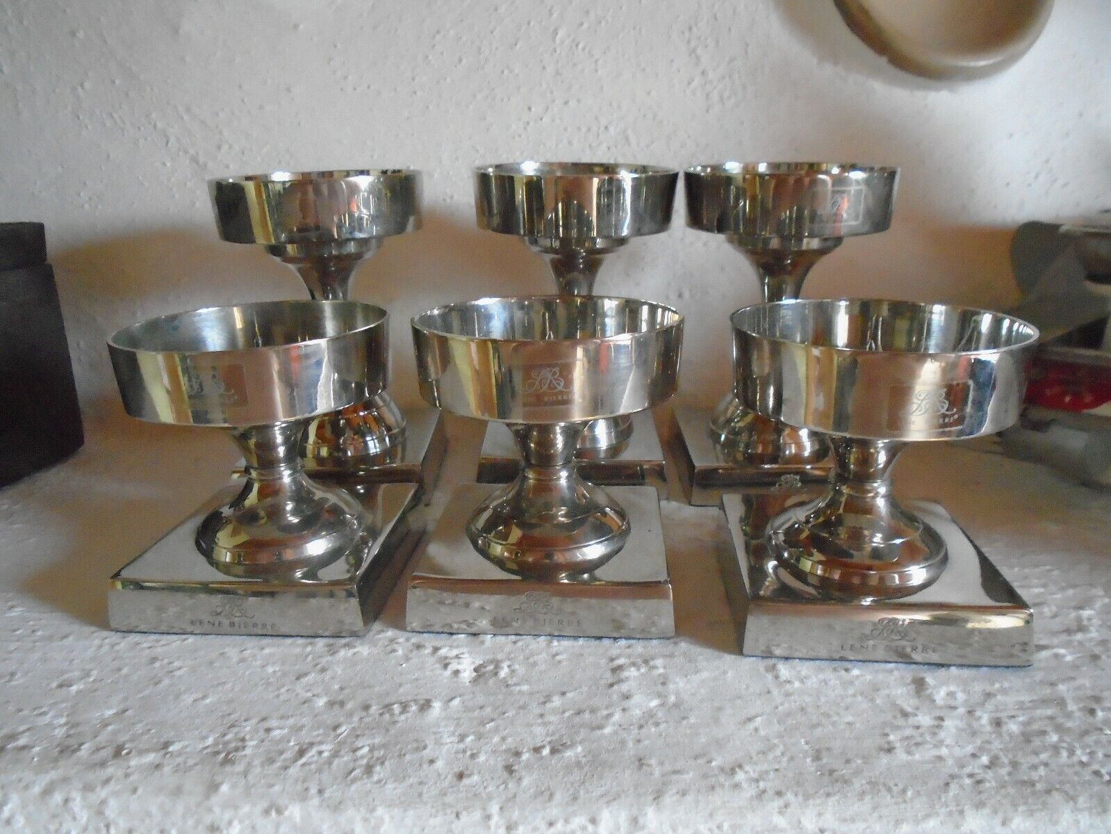 6 Kerzenständer von Lene Bjerre - Neu und unbenutzt