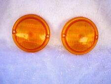 1961 -1967 Dodge Pick Up Round Turn Signal Lenses New Reproductions