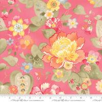 Moda Fabric Nanette By Chez Moi (33160 12) Rose - By 1/2 Yard