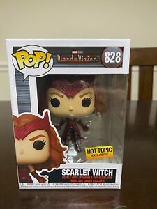 Funko Pop! Marvel Wanda Vision Scarlet Witch #828 Hot Topic Exclusive *IN HAND*