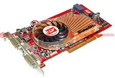 Tarjeta de vídeo nuevo ATI FireGL x2-256mb 256bit 2xdvi ddr3 AGP