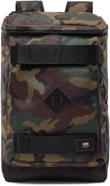VANS Hooks Skatepack Backpack Bag Camouflage Vn0a3hm297i 24l