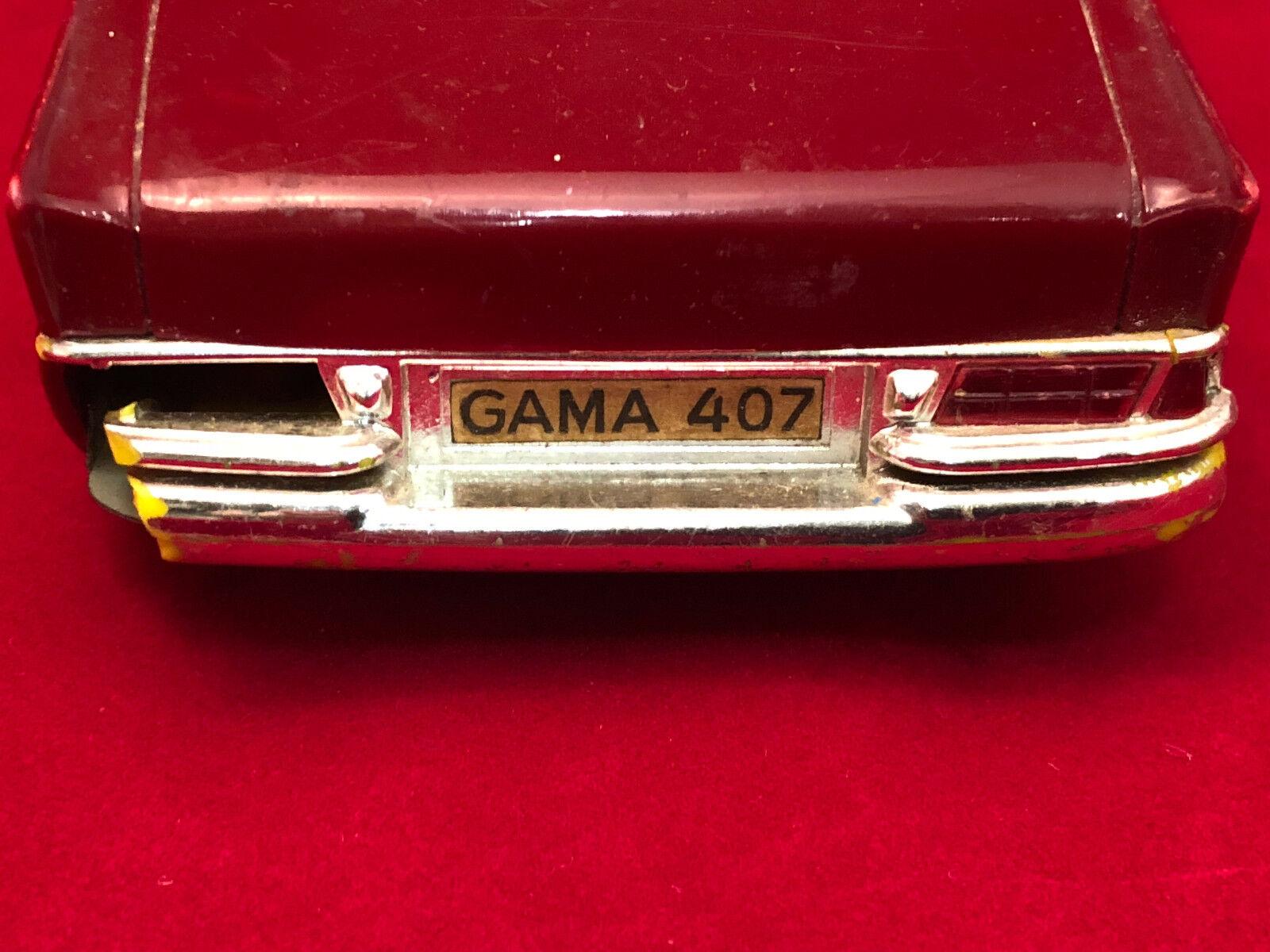 Gama Toy Miniature 407 Voiture Antique Gerfemmey Vintage Jouet jUVzpqGMLS