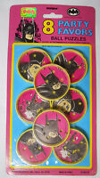 Vintage Still Sealed 1991 Unique Batman Returns Party Favors-ball Puzzles