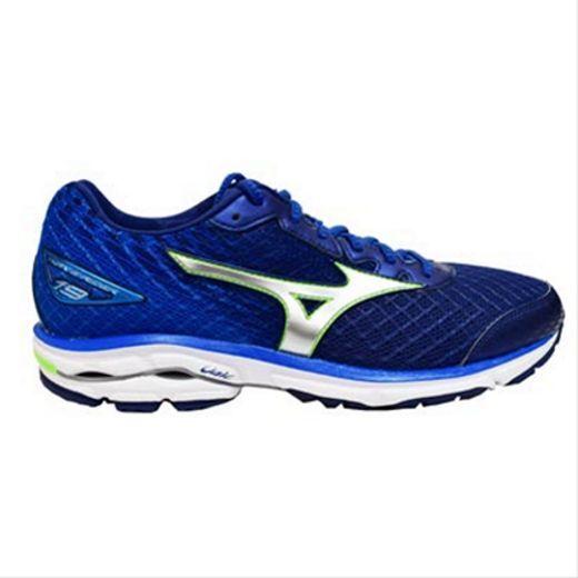 Mizuno Wave Rider 19 Mens Crossrunning shoes (D) (J1GC160307 Twilight bluee)