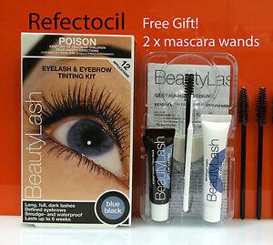 Refectocil-Eyelash-amp-Eyebrow-tint-Kit-Blue-Black-mascara-wands