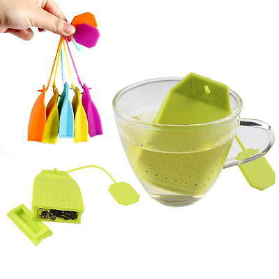 Bag Style Silicone Tea Strainer Herbal Spice Infuser Filter Diffuser