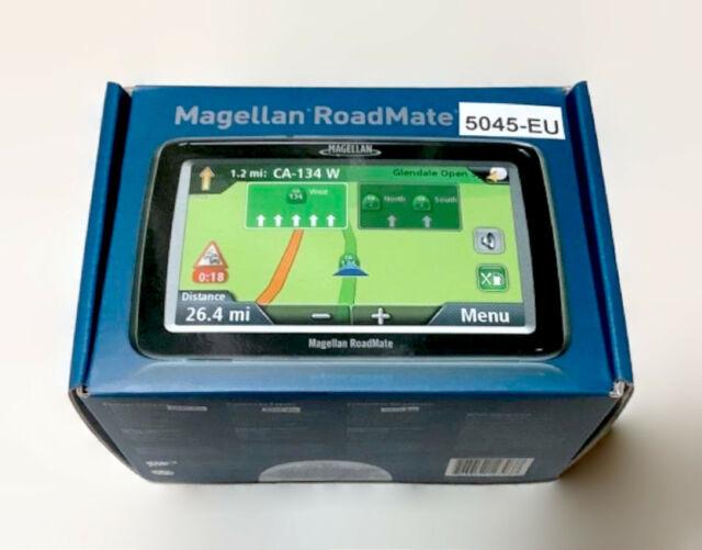 europe map for magellan gps Magellan RoadMate 5045T EU Automotive Mountable for sale online   eBay