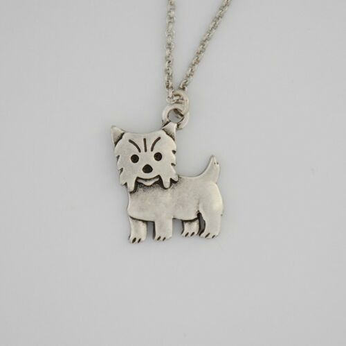 Cartoon Yorkie Pendant Necklace ANIMAL RESCUE DONATION