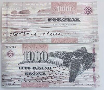 P-32 Faeroe Faroe Islands 500 Kronur New sign+ Security UNC 2011//2012