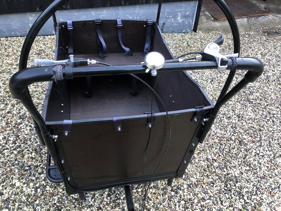 Ladcykel, Cargo Kid 4 børn, 7 gear