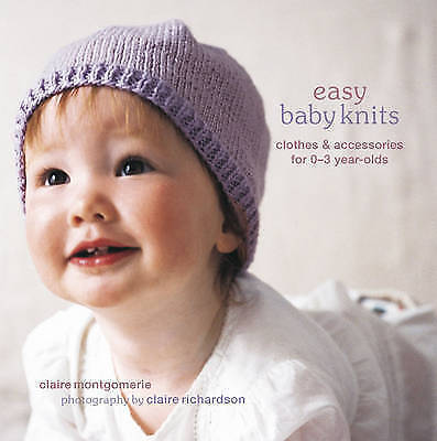 Easy Baby Knits: Clothes and Accessories for 0-3 Year-olds-ExLibrary