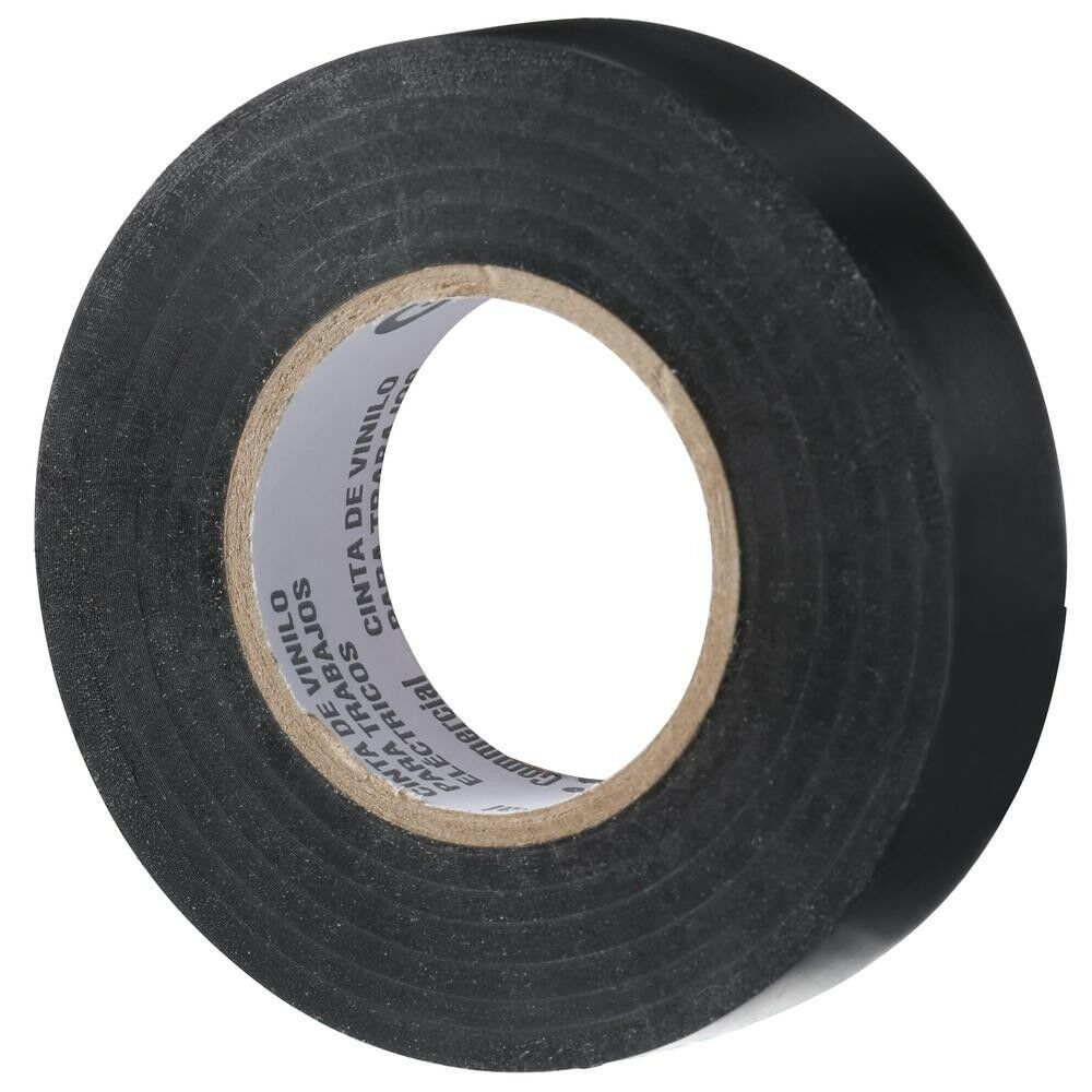 NEW Black Vinyl Electrical Tape 10Pack Rolls Commercial