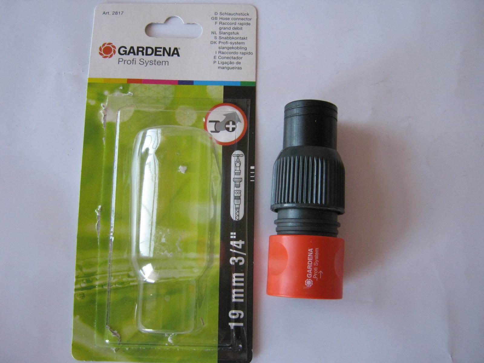 "pour seringue Gardena 2817-20 Tuyau Pièce Steckkupplung profi-system 19 mm 3//4/"""