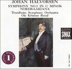 Halvorsen: Symphony No. 1; Nordraakiana Suite (CD, May-1988, Simax)