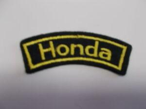 Aufnäher Honda Sticker Patches Sponsoraufnäher