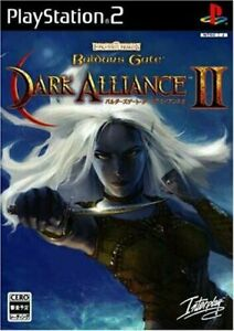 USED PS2 PlayStation 2 Baldur's Gate Dark Alliance 2 (language/Japanese)*