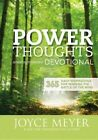 Power Thoughts Devotional: 365 Daily Inspirations for Winning the Battle of the Mind by Joyce Meyer (Hardback, 2013)