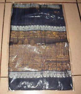 Krama-foulard-echarpe(sjaal,scarf) Avec éléphant 100%soie(cambodia Silk)170x50cm