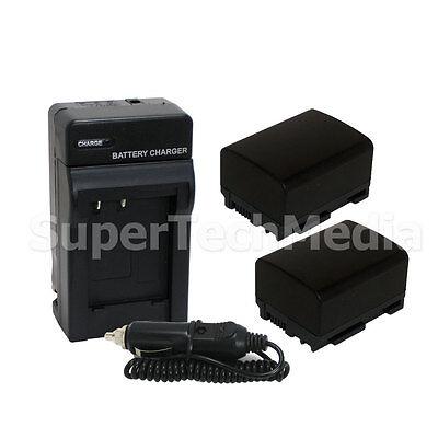 Batería CARGADOR F canon LEGRIA HF m31-hd chip m306-hd