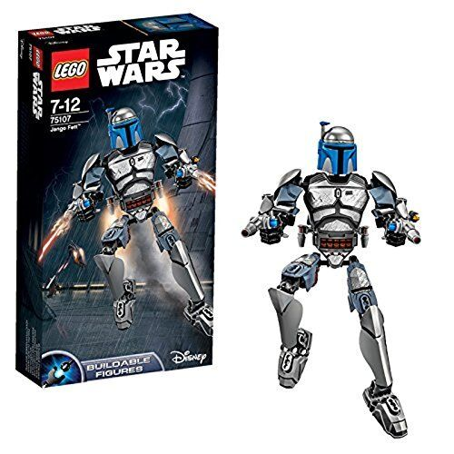 LEGO Star Wars Jango Fett Buildable Figure (75107)