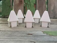 """Picket Caps 12pc PVC Vinyl Fence Pointed Picket Cap for 7//8/"""" x 3/"""" picket"""