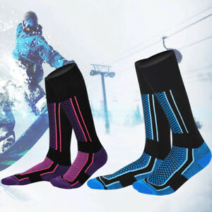Men-039-s-Long-Warm-Thick-Snow-Ski-Hiking-Outdoor-Winter-Sport-Socks-Snowboard-Safe