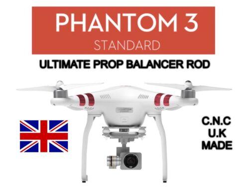 Brushed Aluminium Dji Phantom 3 STANDARD Prop Balancer Rod