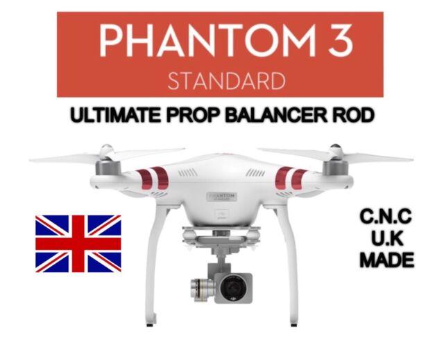 Dji Phantom 3 STANDARD Prop Balancer Rod. Brushed Aluminium.