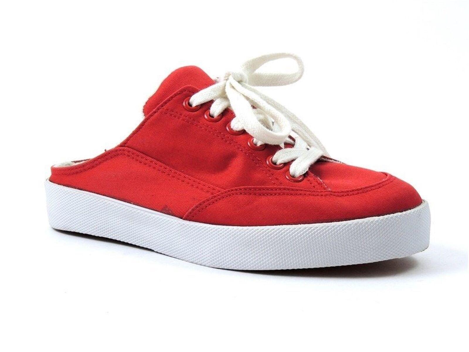 Easy Spirit Women's Shelby Sneaker-Inspired Slides Red Size 5 M
