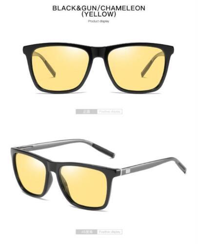 AORON Men Photochromic Polarized Sunglasses Outdoor Driving Fishing Glasses Hot