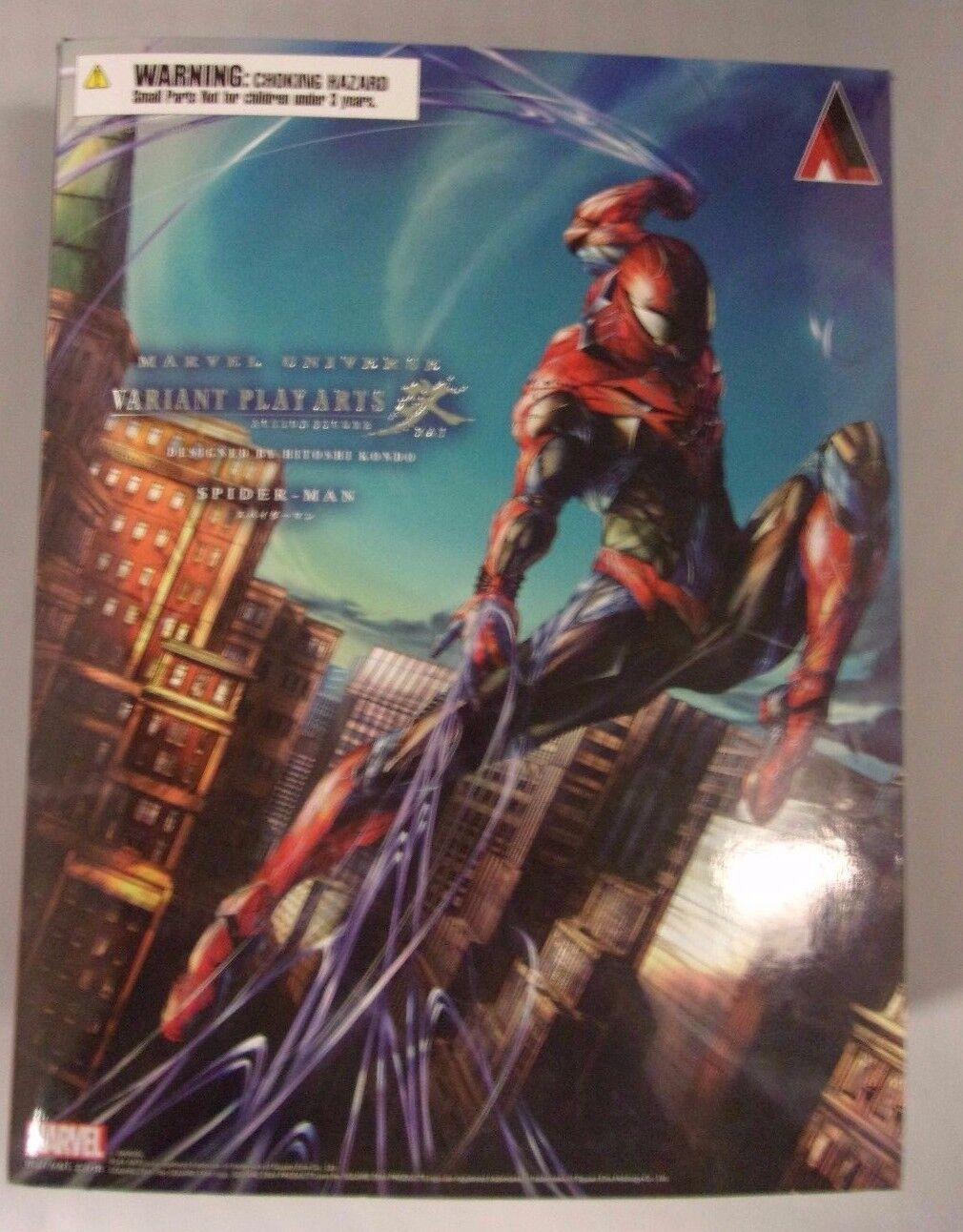 AuthenticMarvel Universe Variant PlayArts Kai SPIDER-MAN Symbiote Hitoshi Kondo