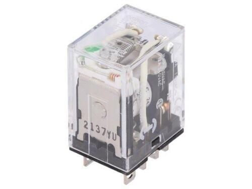 LY2N-D2-24DC Relais elektromagnetisch DPDT USpule 24VDC 10A//110VAC 10A OMRON