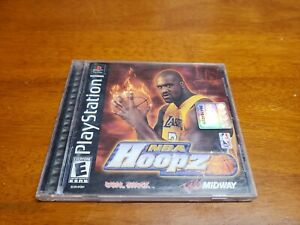 NBA-Hoopz-Sony-PlayStation-1-2001-PS1-Complete-with-Registration-Card-TESTED