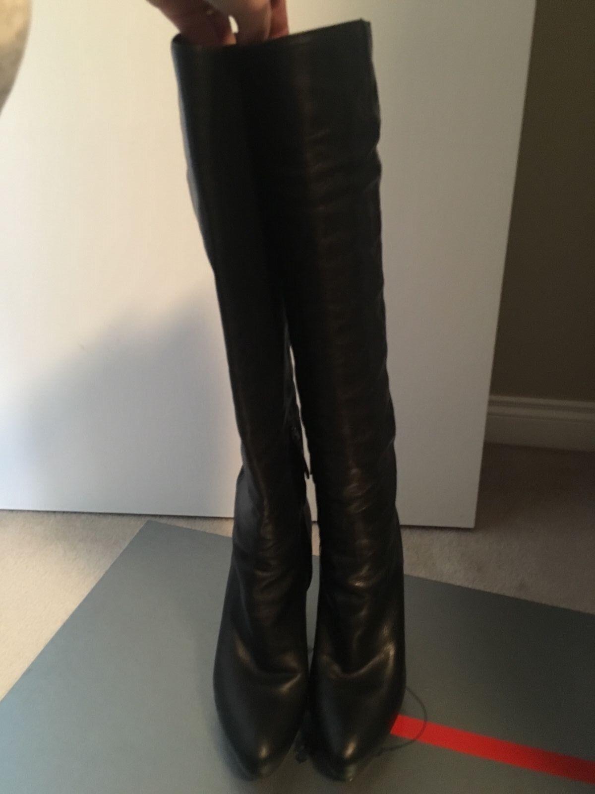 Prada boots black black black size 39 e9ca78