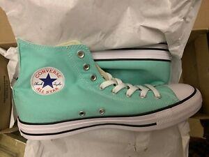 0f7857b09f6f28 Converse Chuck Taylor All Star CT Hi Top Size 12 Mint Green 136561F ...