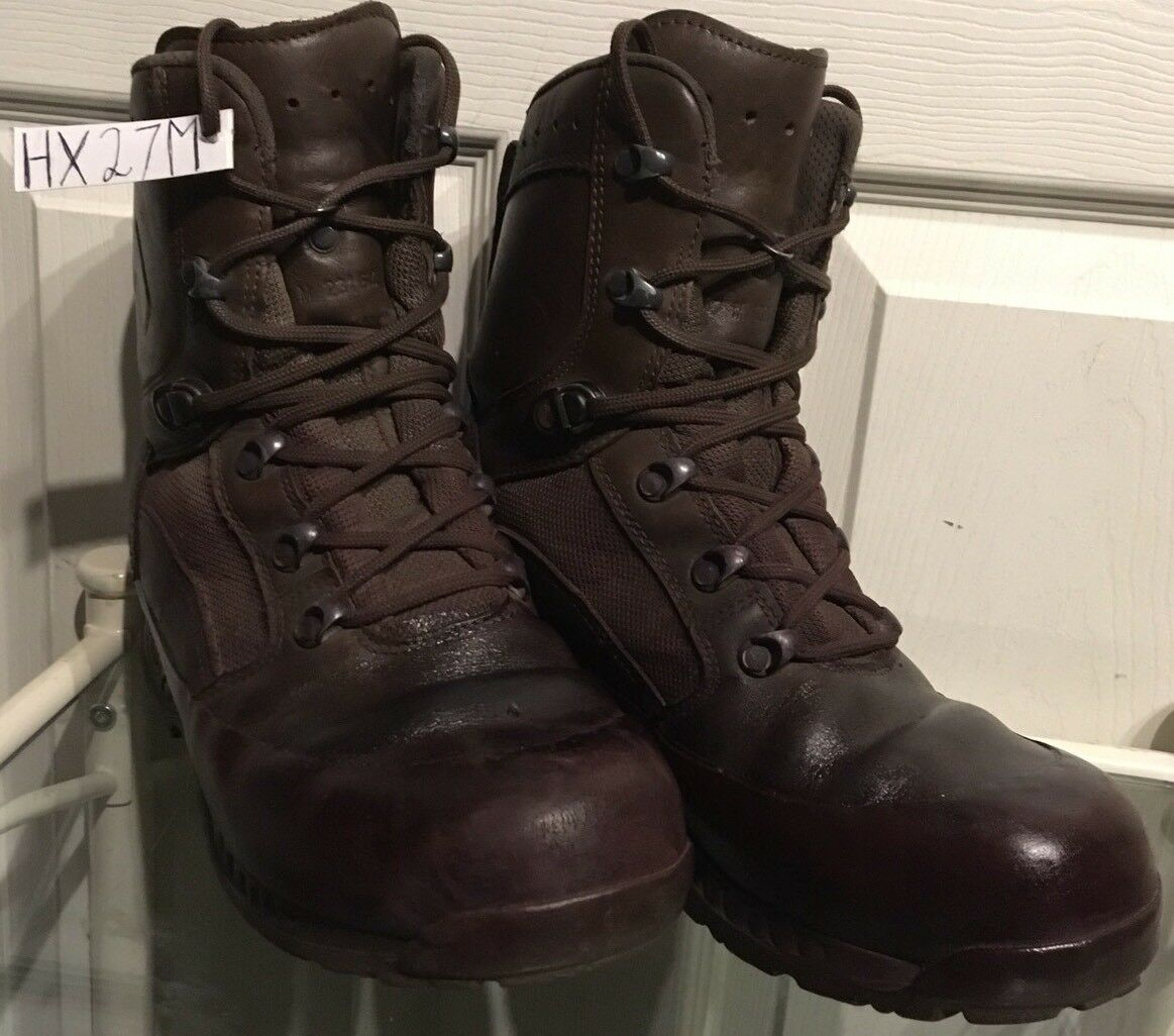 Haix Brown MTP Gore-Tex Waterproof Army Issue Combat Boots 7M HX27M