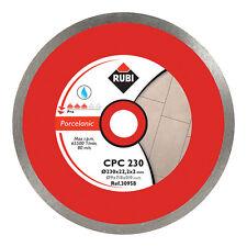Rubi CPC 200mm Diamond Blade Saw Porcelain Cutting - 30956