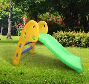 Kids-Children-Climbing-Slide-amp-Steps-Set-Play-Toy-Play-Area-Garden-Outdoor-Gift
