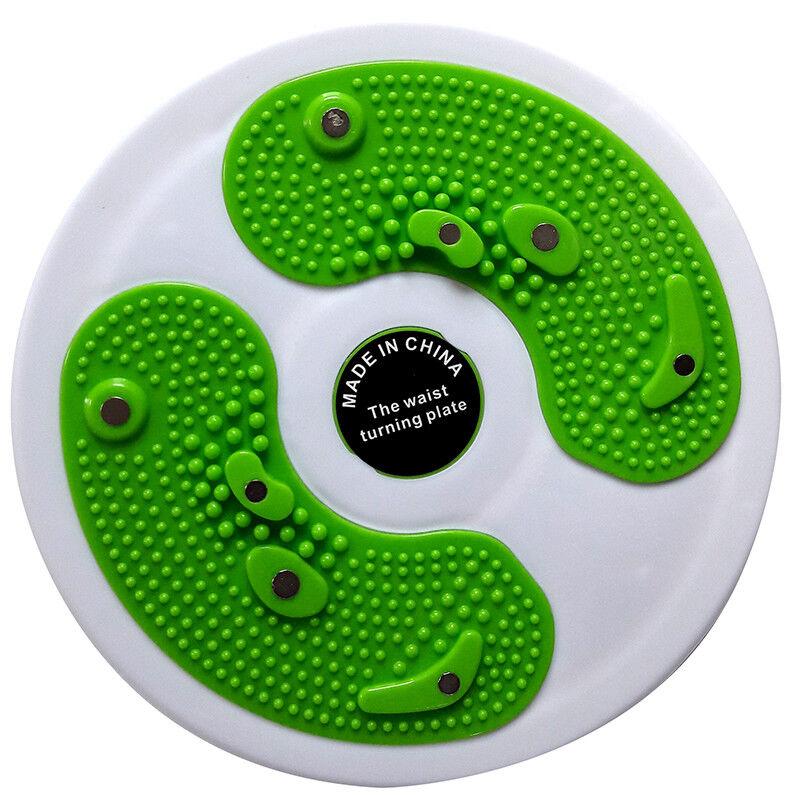 Taille torsion disque pied massage rotatif réflexologie fitness perte de poids