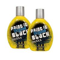 Lot Of 2 Millennium Paint It Beyond Black 100xxx Indoor Dark Tanning Lotion