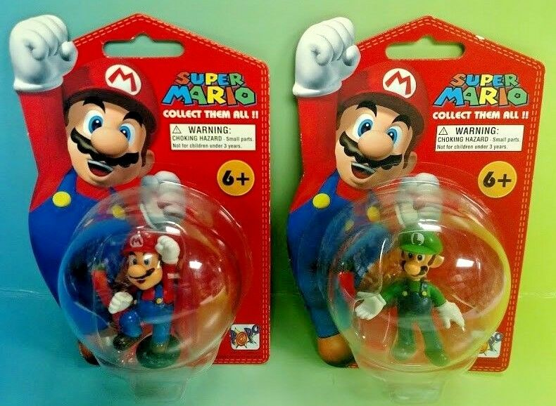 New super mario abbildung menge sammlung mario + luigi 5  popco entertainment 2007