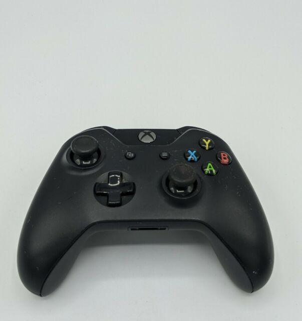 Microsoft XBOX ONE Wireless Controller Model 1537 Black Tested